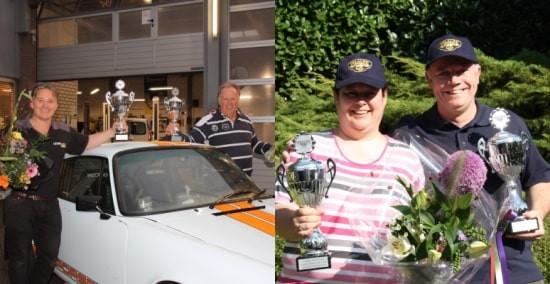 De winnaars van de Waalre Individual Rally 2020